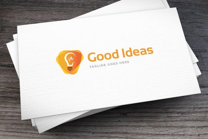 Thumbnail for Good Ideas Logo Template