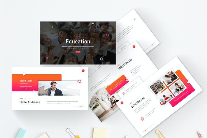 Образование - Шаблон слайдов Google