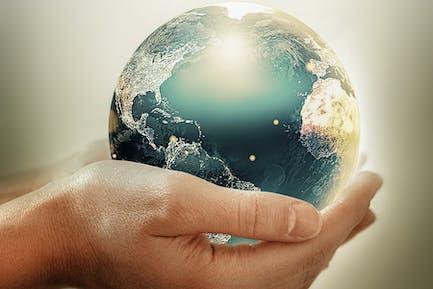 Konzeptbild des Umweltschutzes