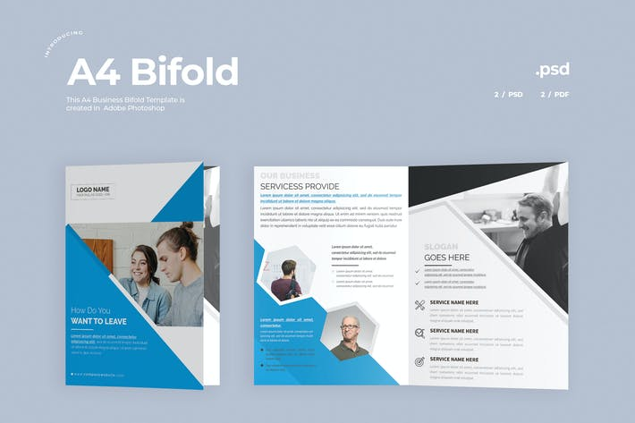 Thumbnail for Business Bifold Broschüre
