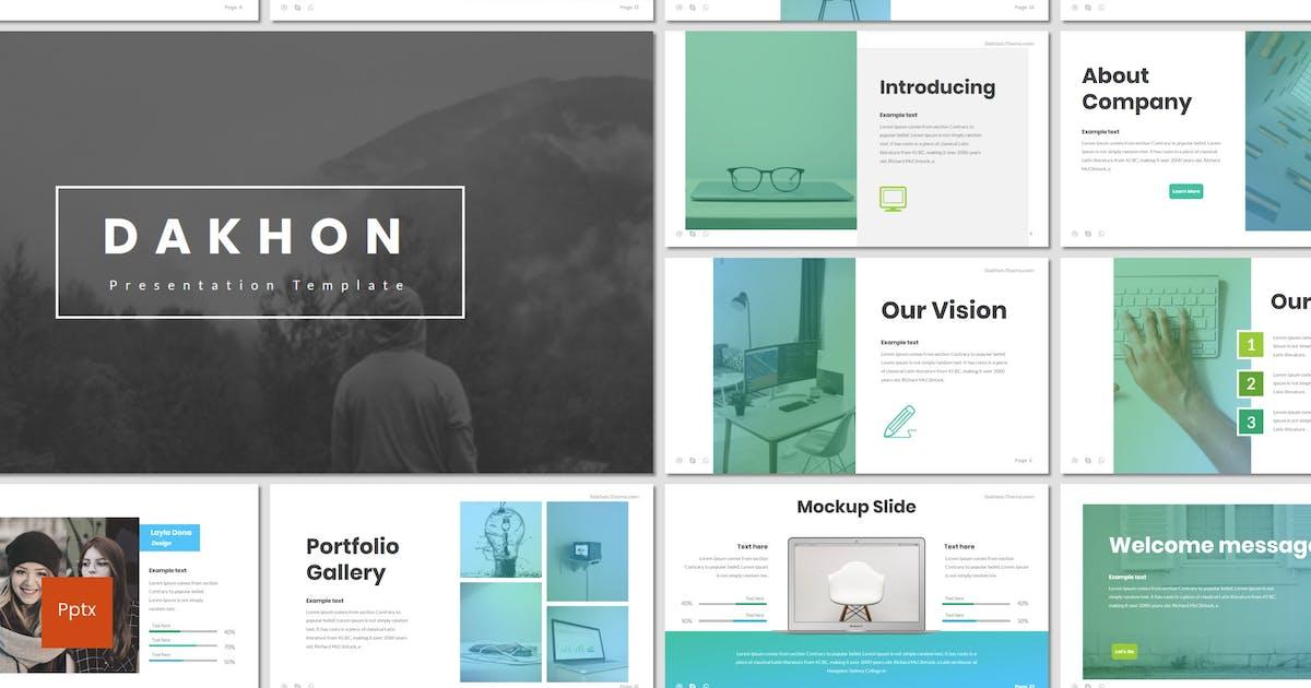 Download Dakhon - Powerpoint Template by inspirasign