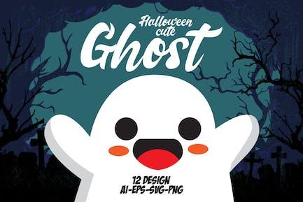 Halloween Niedlicher Ghost