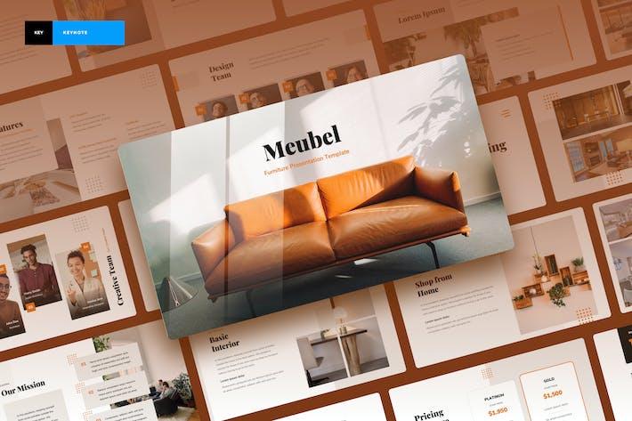 Thumbnail for Meubel - Дизайн интерьера Keynote доклад