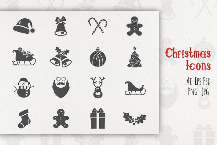 Thumbnail for Christmas Icons Collection