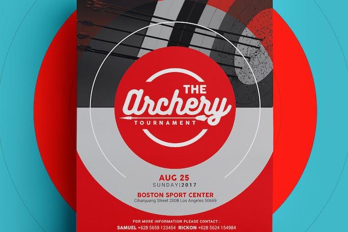 Thumbnail for Archery Tournament Flyer