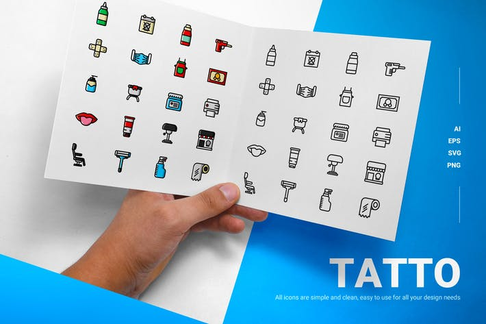 Tatto Icons - Icons