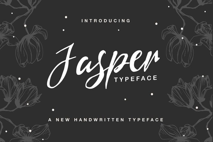 Thumbnail for Jasper Typeface
