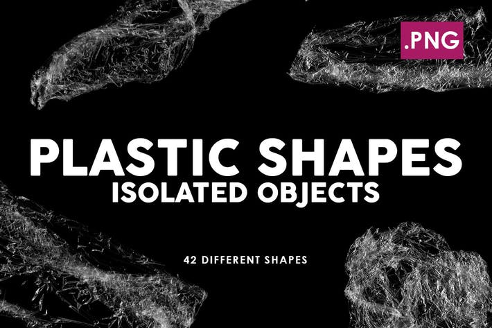 Thumbnail for 42 Isolated Plastic Shapes