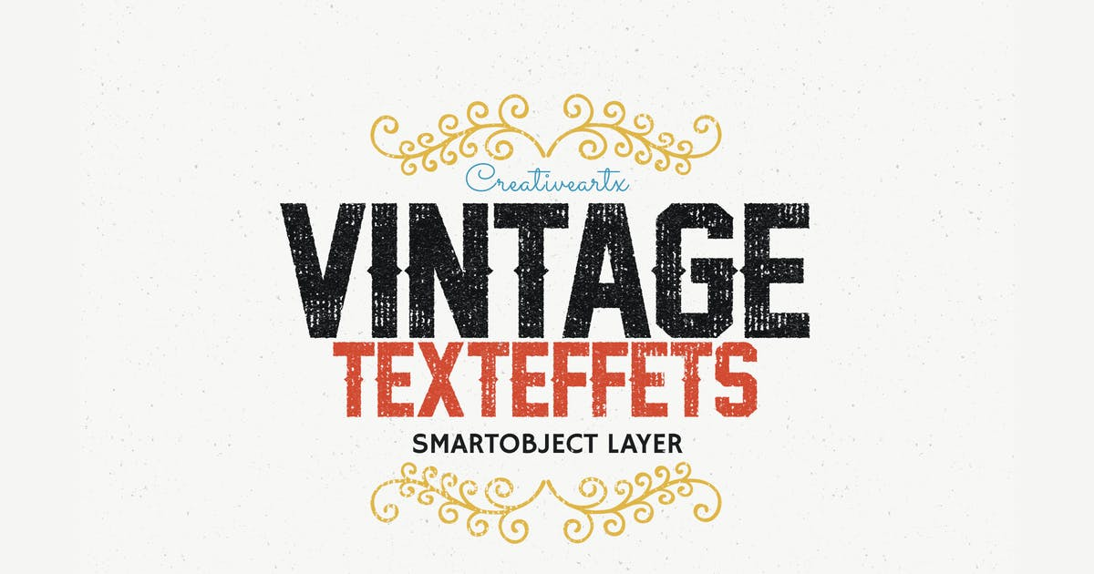 Download Letterpress Vintage Text Effects 2 by creativeartx