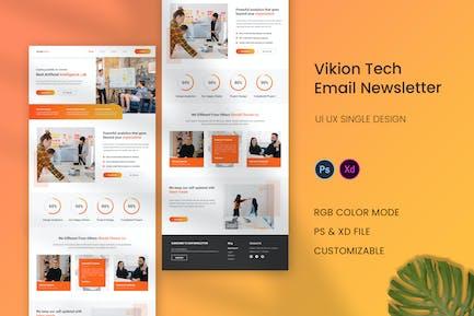 Vikion Tech Email Newsletter