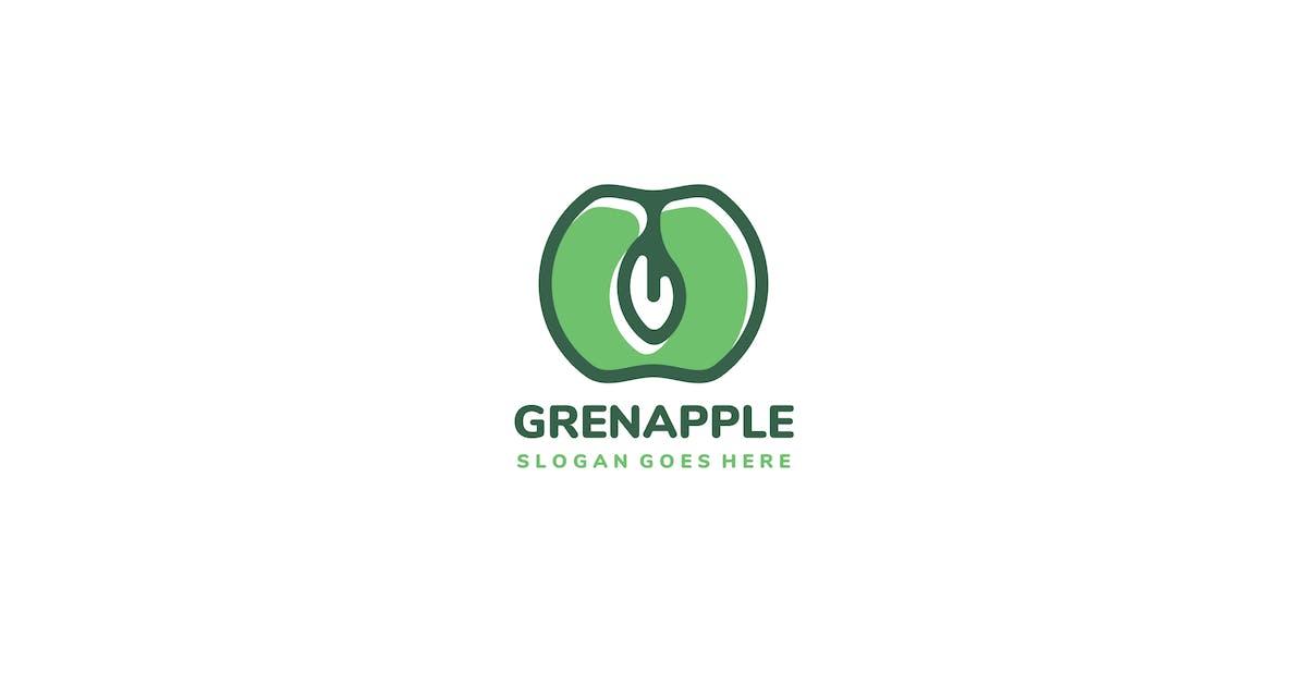 Download Green Apple Logo by 3ab2ou