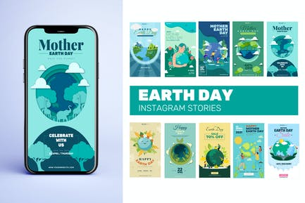 Tag der Erde Instagram Stories