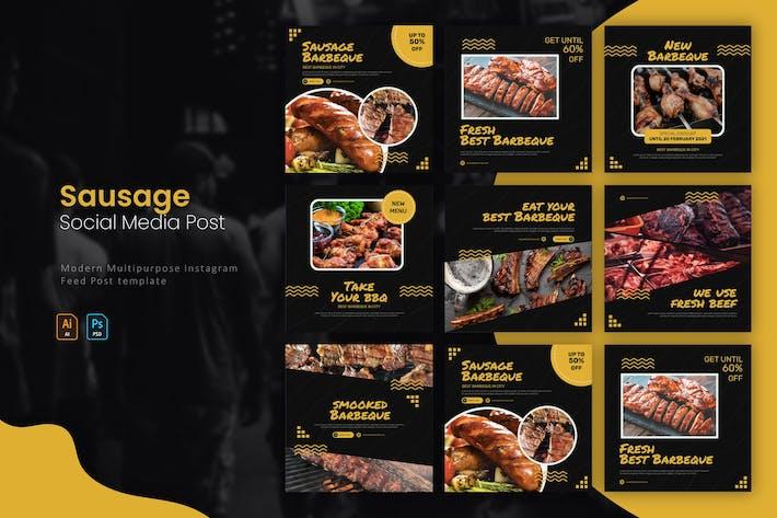 Sausage Barbeque   Instagram Post