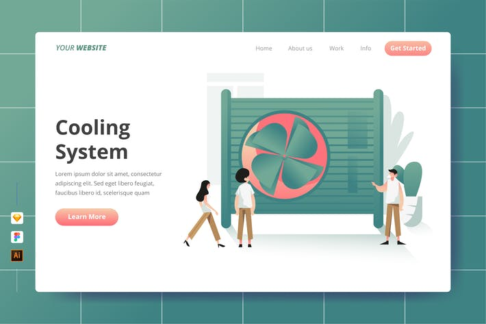 Thumbnail for Cooling System - Landing Page