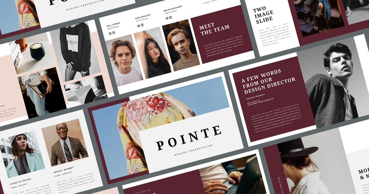 Download Pointe - Business Keynote Template by BervisualStd