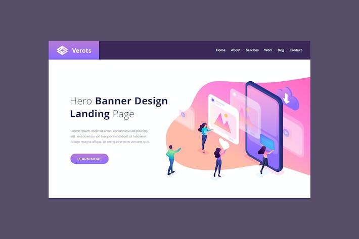 Thumbnail for Verots - Hero Banner Template