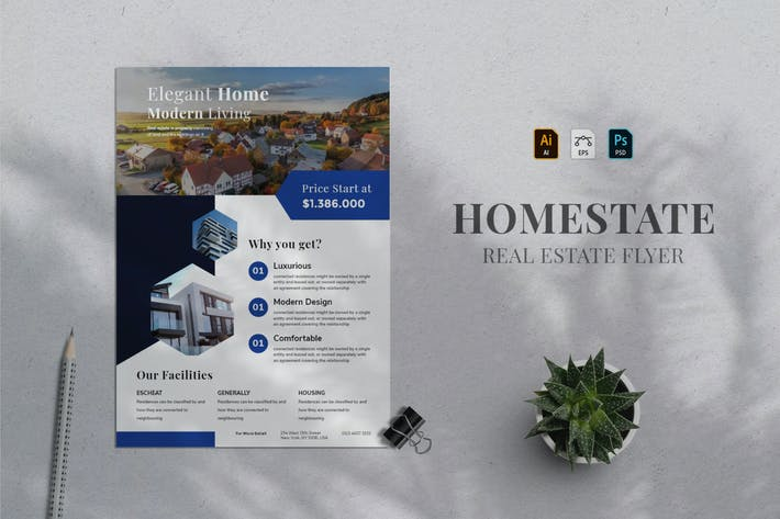 Thumbnail for Real Estate Flyer 04