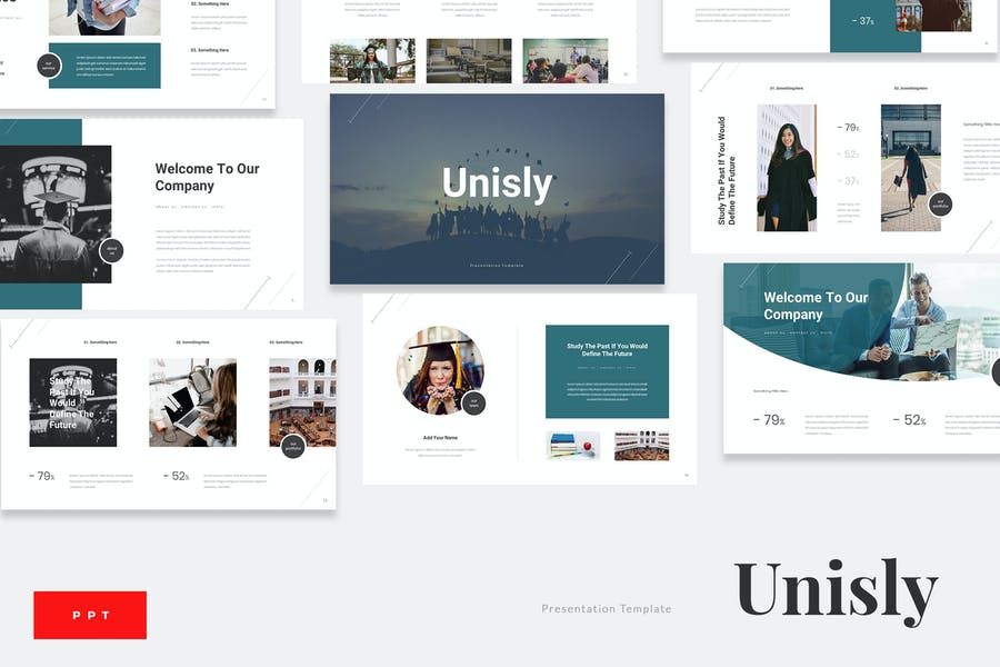 Unisly - University Education Powerpoint Template