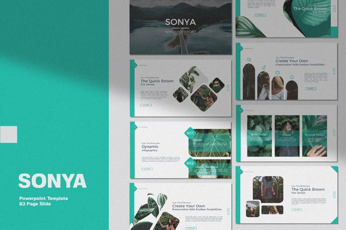 Thumbnail for Sonya Business Creative Template