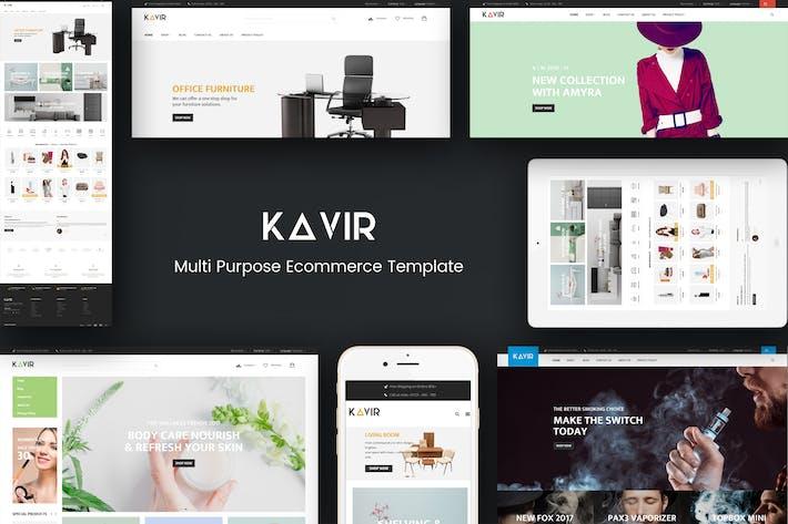 Thumbnail for Kavir - Responsive Magento Theme