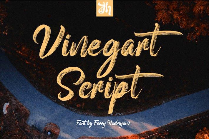 Vinegart - Fuente manuscrita