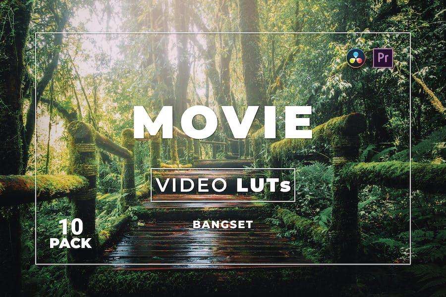 Пакет фильмов Bangset 10 Видео LUTs