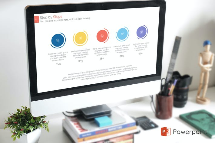 Thumbnail for Kanflex Creative Powerpoint Presentation Template