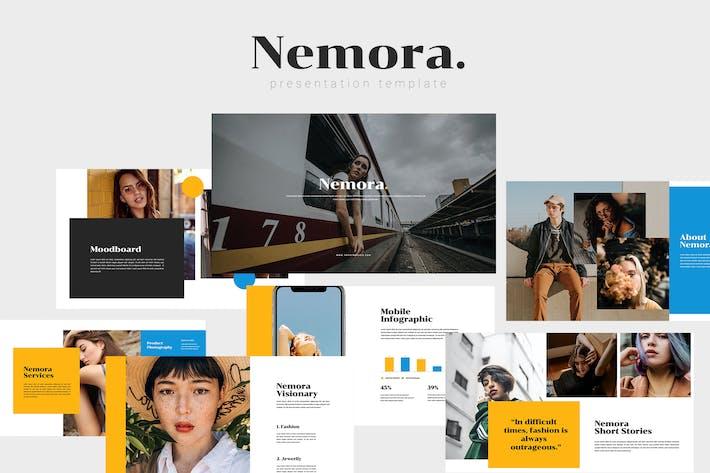 Nemora - Fashion Google Slides Template