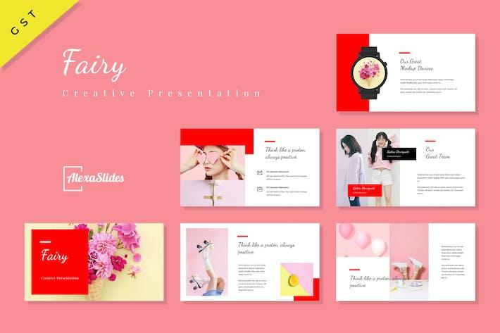 Thumbnail for Fairy - Creative Google Slides Template
