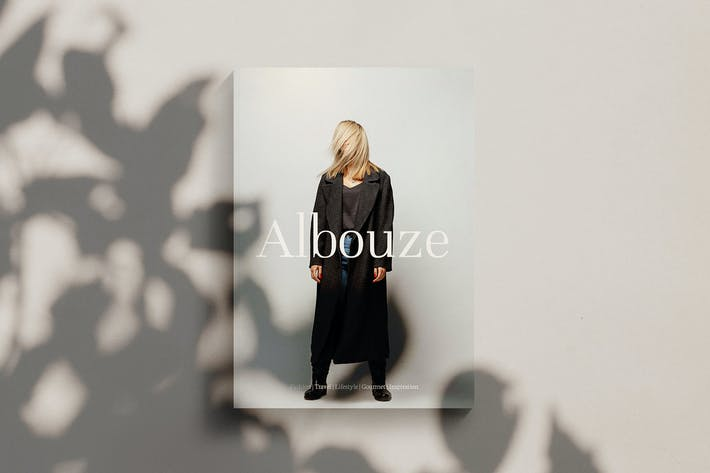 Thumbnail for Albouze - Minimalist Magazine Template