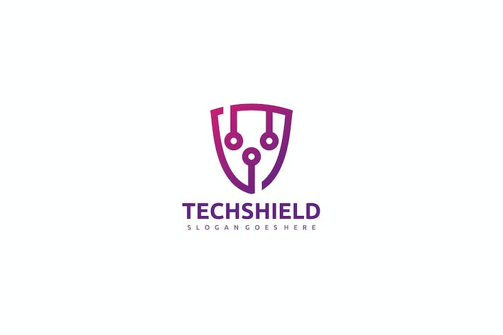 Thumbnail for Tech Shield Logo