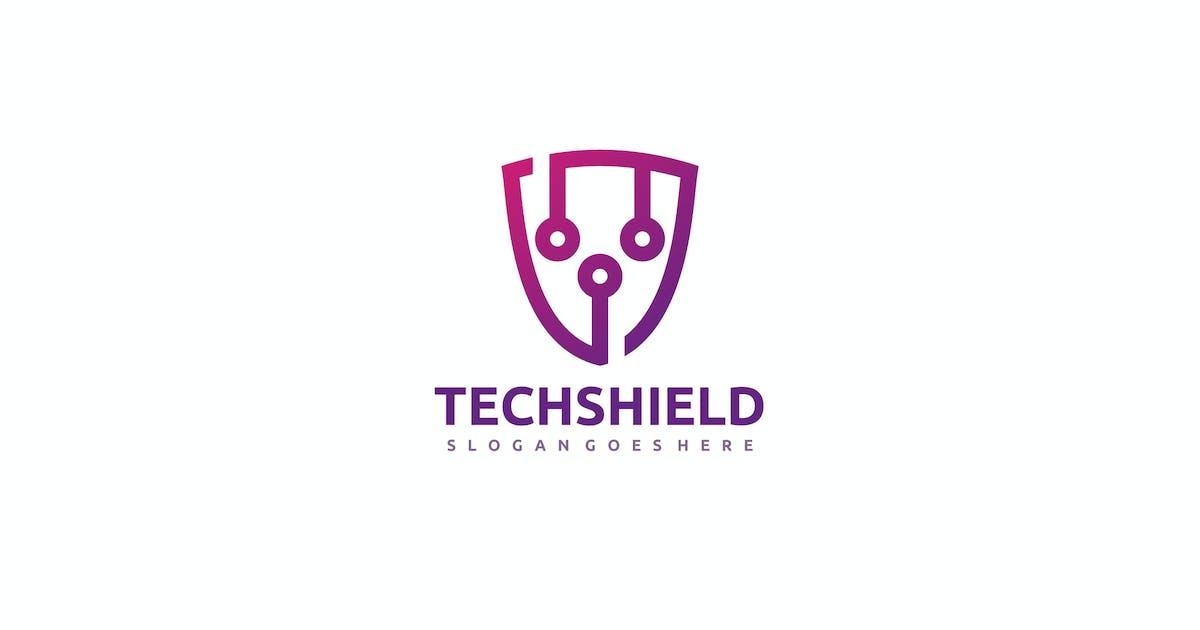 Download Tech Shield Logo by 3ab2ou