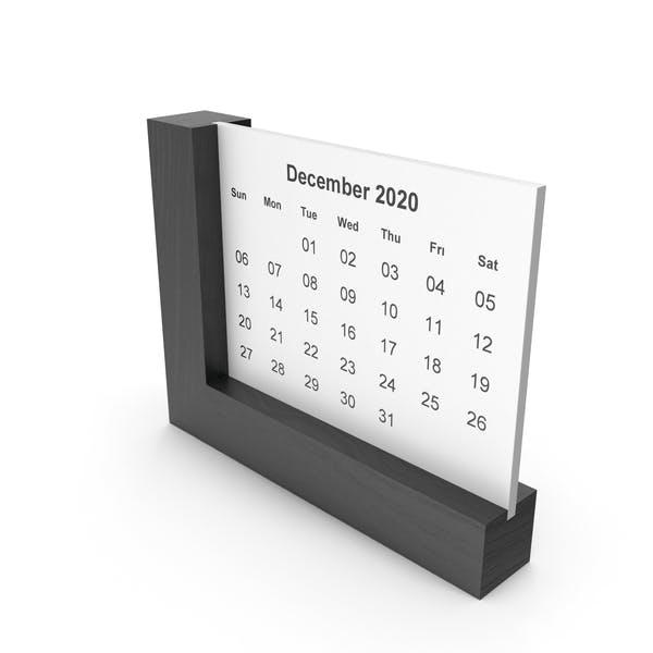 Thumbnail for Frame Calendar Dark wood