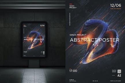 Poster Digital Abstract