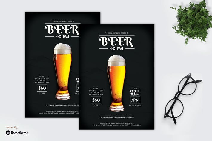 Thumbnail for Beer Festival - Party Flyer RB