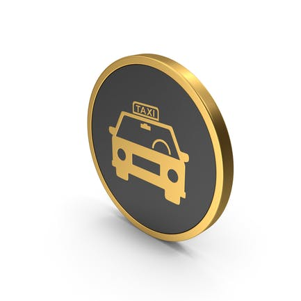 Gold Icon Taxi