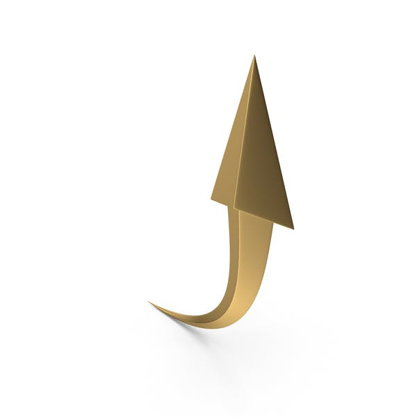Thumbnail for Golden Upward Arrow