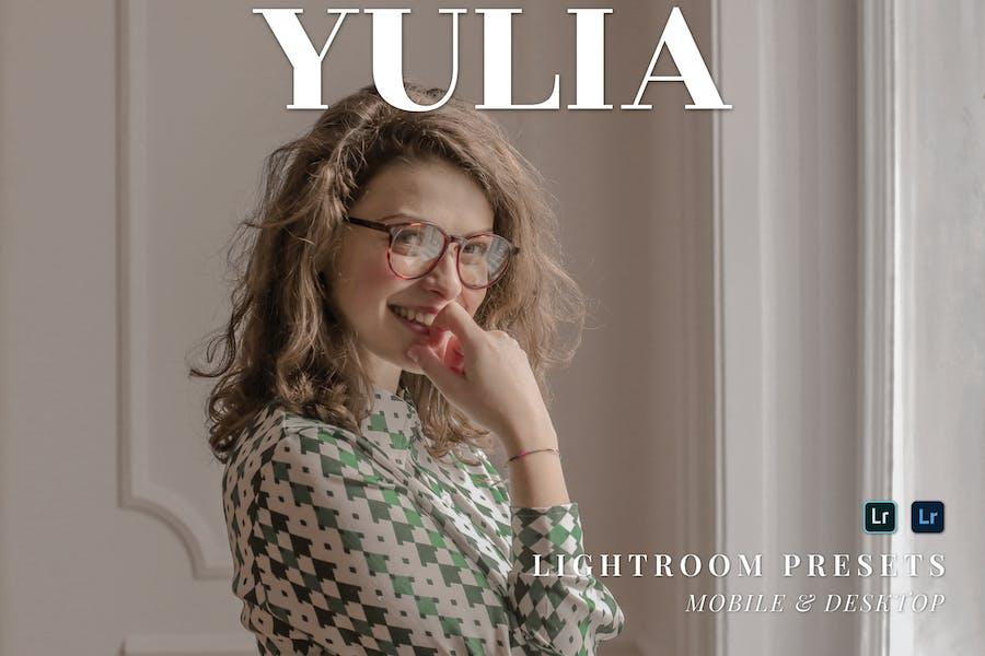 Yulia Mobile and Desktop Lightroom Presets