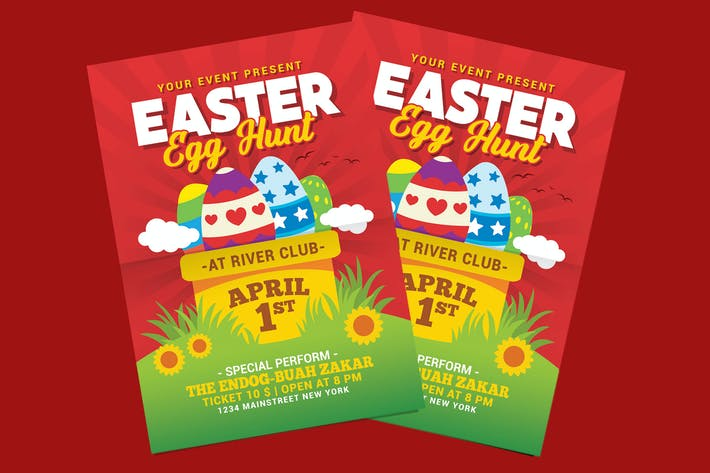 Thumbnail for Easter Egg Hunt Flyer