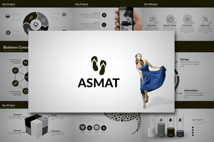 Thumbnail for ASMAT Powerpoint Template