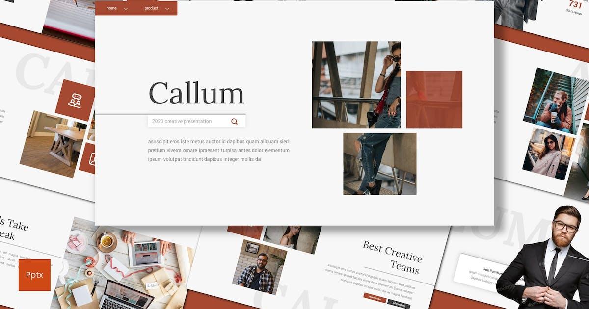 Download Callum - Creative Powerpoint Template by inspirasign