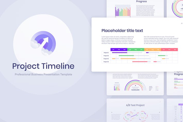 Thumbnail for Project Timeline for Keynote