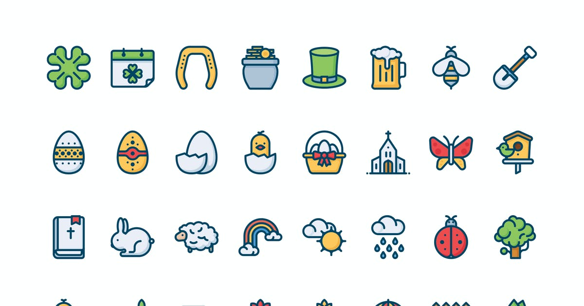 32 Spring icons by mir_design