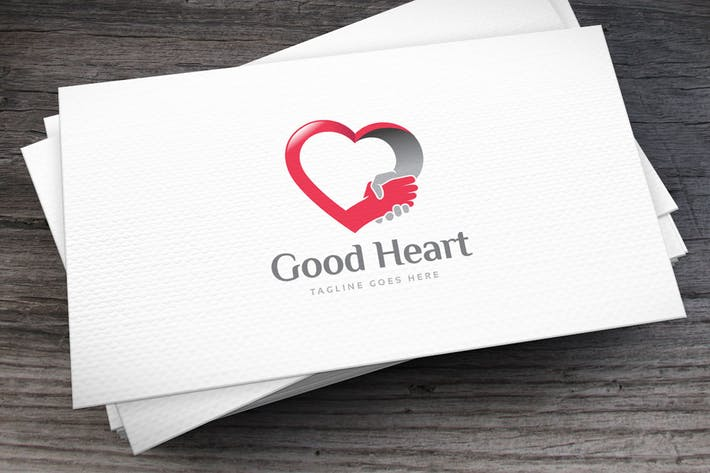 Thumbnail for Good Heart Logo Template