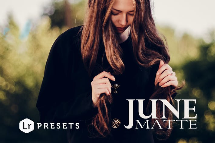 Thumbnail for June Matte Lightroom Presets