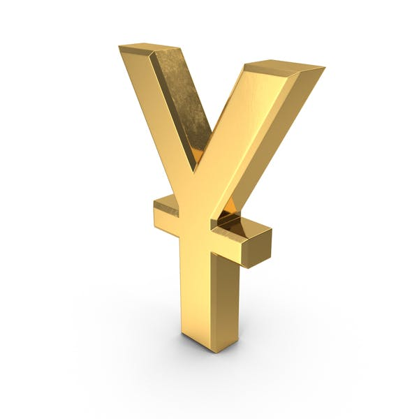 Chinese Yuan Currency Symbol Gold