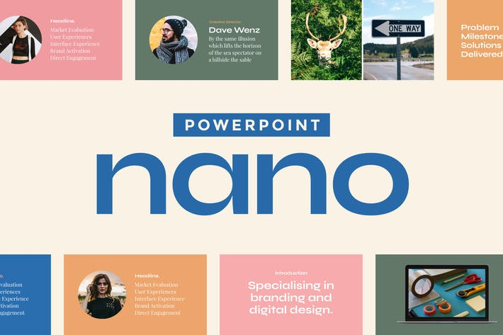 Thumbnail for Nano — Powerpoint Presentation Template