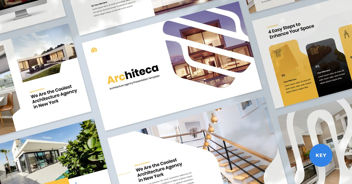 Download Architecture & Design Keynote Template by Krafted
