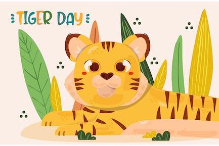 Illustration zum globalen Tigertag (4)