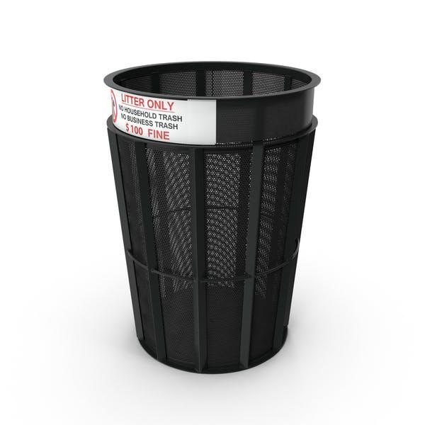 New York Garbage Bin